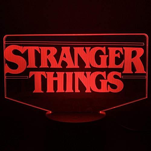 Die Stranger Things TV-Show mit batteriebetriebenem Dropship 3D LED-Nachtlicht ist das perfekte Geschenk für Erwachsene.