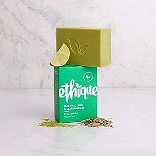 Ethique Matcha, Lime and Lemongrass Bodywash Bar, 120 grams