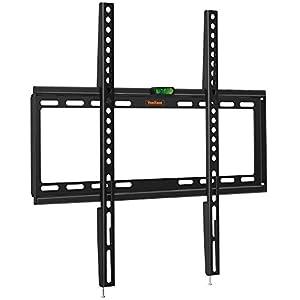 VonHaus 32-55 Pulgadas TV Wall Bracket - Ultra Slim, Flat to Wall Mount para Pantallas compatibles VESA, 35 kg de Capacidad de Peso