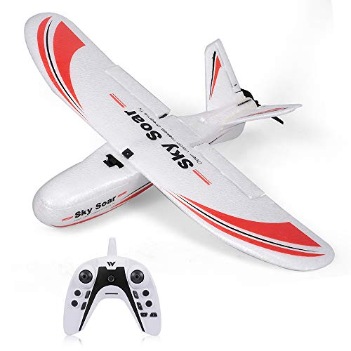 GoolRC Attop P01 RC Plane, 2.4GHz 3CH Remote Control Airplane, Fixed Wing Plane RC Aircraft Outdoor Toy