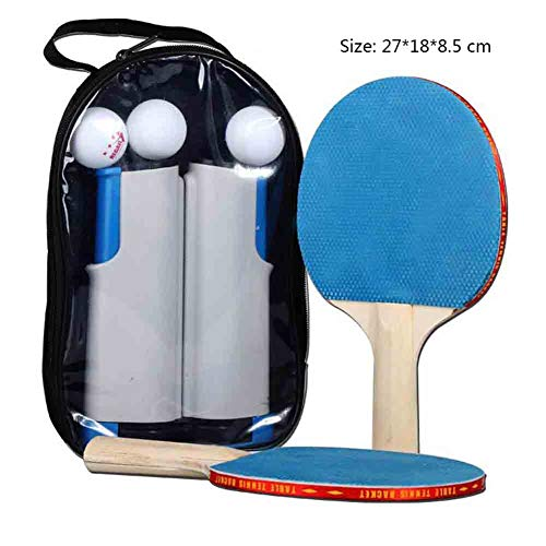 Fantastic Prices! ATYMD Portable Ping Pong Set, Table Tennis Bundle, Professional Table Tennis Racke...
