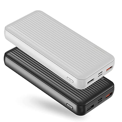 【2-Pack】Ockered Power Bank, Portable Charger PD 20000mAh【18W Fast...