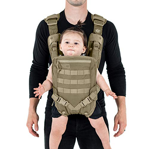 Mission Critical S.01 Action Baby Carrier, Baby Gear for Dads (Coyote)