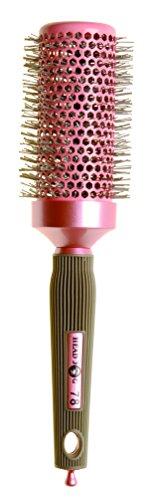 Head Jog 78 Cepillo radial iónico de cerámica rosa 43 mm