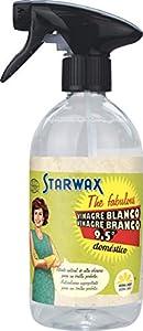 Starwax The Fabulous Vinagre Blanco 500 ml - Spray Pulverizador de Limpieza Concentrado y Perfumado, Limpiador Multiusos Desengrasante y Eliminador de Cal