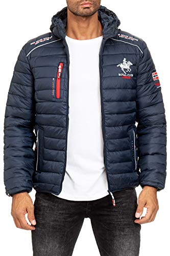 Geographical Norway Herren Steppjacke Brick Navy S