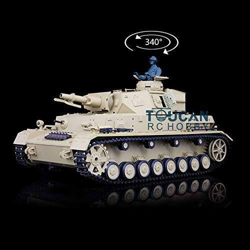 Henglong 1/16 Scale 6.0 Plastic German Panzer IV F RTR RC Tank Model 3858