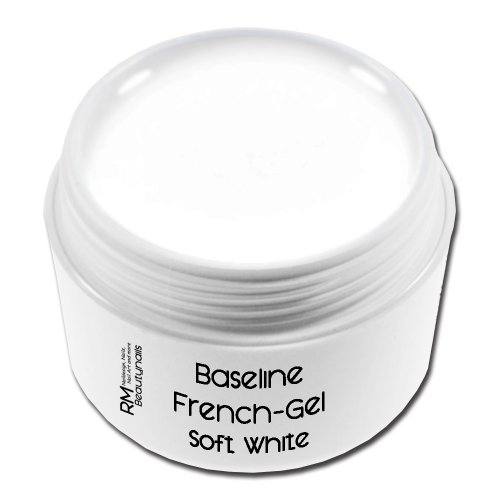 French Gel Soft Blanc Soft White en qualité studio