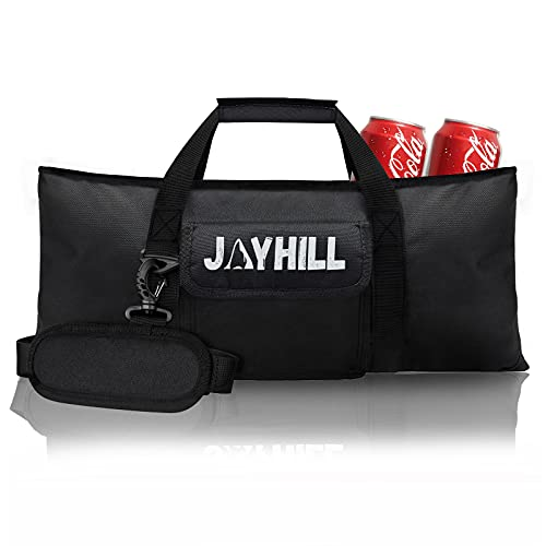 JOYHILL Golf Cooler Bag with Ice Pack, Insulated Golf Bag Cooler for Men, Soft Wine Carrier Bag Beer Cooler Bag for 2 Bottles of Wine or 6 Pack of Cans, Golf Gift for Man Women