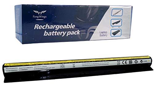 FengWings 14.4V 2600mAh L12L4E01 L12S4E01 L12L4A02 L12M4A02 L12M4E01 Laptop Battery Compatible with Lenovo G400s G410s G500s G50-30 G50-45 G50-70 G50-80 Z50 Z70 Z710 B70-80 Z50-75 S510P Z50-70
