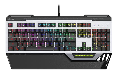 Full Mechanical RGB Gaming Keyboard