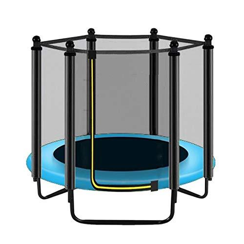 YCRCTC Redondo Kids Mini Trampoline Clave Net Pad Pad Pad Rebountder Ejercicio al Aire Libre Inicio Juguetes Jumping Bed Safety Net Protection Guard (Color : 1.5M)