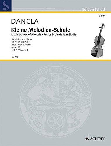 Kleine Melodien-Schule: 20 kleine Stücke. Band 1. op. 123. Violine und Klavier. (Edition Schott)