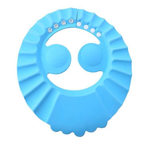 DANDANdianzi Einstellbare Baby-Kind-Kleinkind-Haarwäsche Hat Shampoo Haar Kinder Badewanne Bade Dusche Schild-Schutz Baby-Schirm Gehörschutz Cap