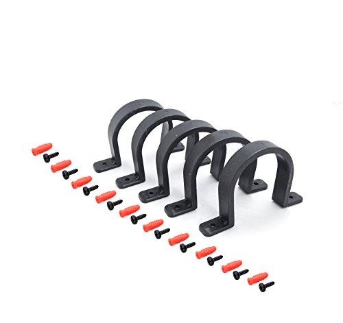 POWERTEC 70172 4' Hose/Pipe Hangers, 5 Pack