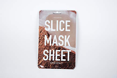 Coconut slice mask sheet (12 patches), Blink Lab