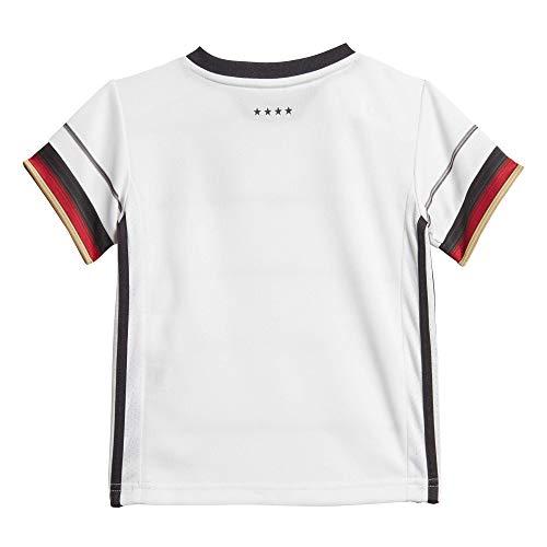 adidas Kinder DFB H BABYKIT Football Set, Black, 9-12M
