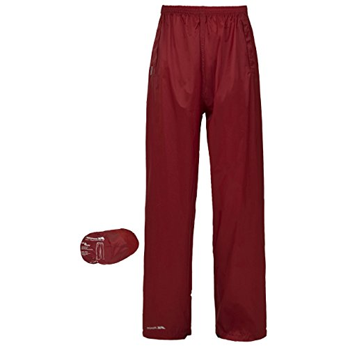Trespass Packa Unisex Tech Pack Away Trousers - Tomato - Extra Large