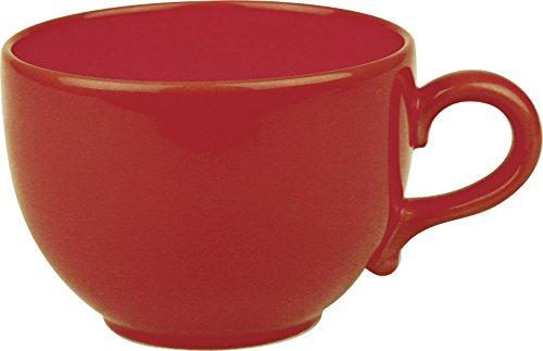 Faszination-Wohnen große Tasse Jumbotasse 600ml Suppentasse Jumbo Kaffeetasse Rot