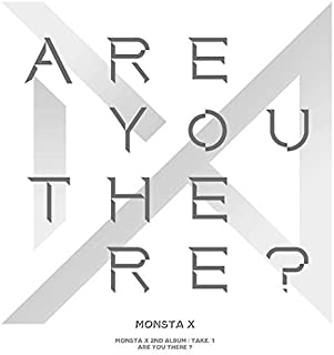 Monsta X - 2nd Album Take.1 [are You There?] Random Version CD + Photocard + Booklet