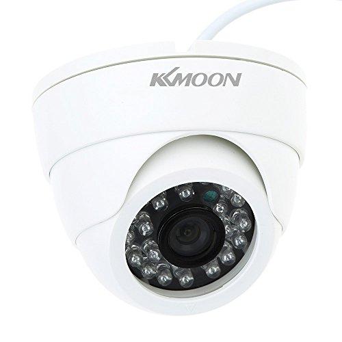 KKmoon CCTV Kamera 800TVL Indoor 24 LEDs Weitwinkel IR Farb Sicherheitskamera Überwachungskamera Dome Kamera
