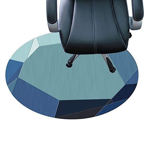 protector suelo Superficie De Poliéster Fondo Antideslizante Protector De Piso Silencioso Y Resistente A Los Arañazos Tapetes Protectores De Piso De 7 Mm De Espesor(Size:120×160cm/47×63in,Color:UN)