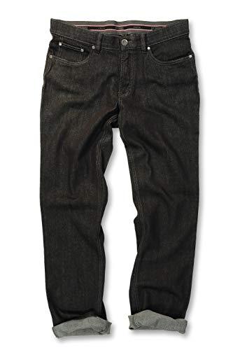 JP 1880 Herren große Größen bis 66, Jeans, Denim-Hose im 5-Pocket-Style, Stretch-Komfort, elastischer Bund & Regular Fit Black 33 708068 11-33