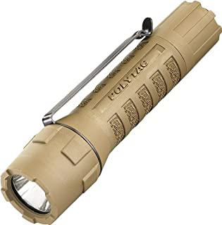 Streamlight 88851 PolyTac LED Flashlight with Lithium Batteries, Coyote - 275 Lumens