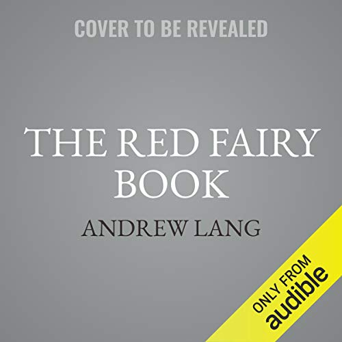 The Red Fairy Book audiobook cover art