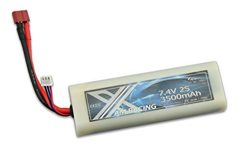 Amewi 28887–7, 4V 3500mAh Hardcase batería de polímero de Litio Dean Conector