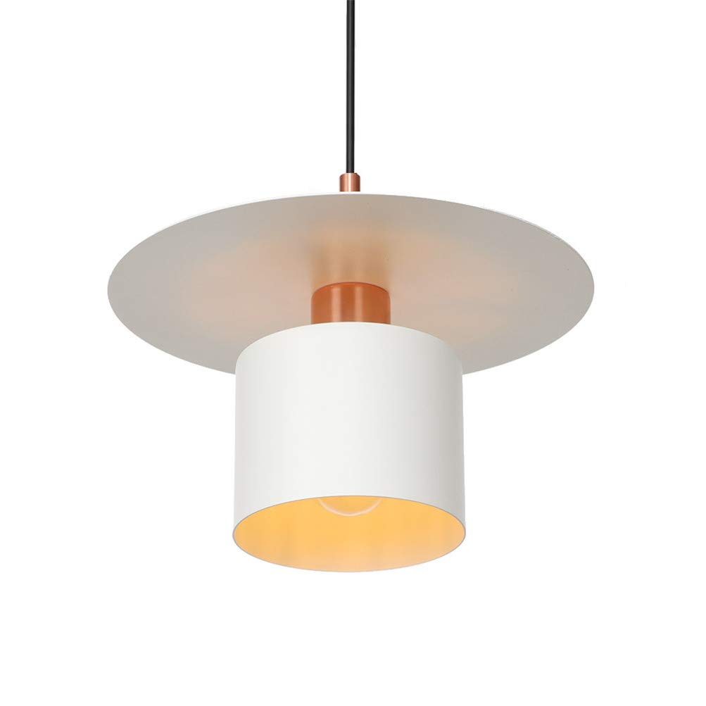 Good&Mojo Mekong - Lámpara de techo de bambú, color blanco y ...