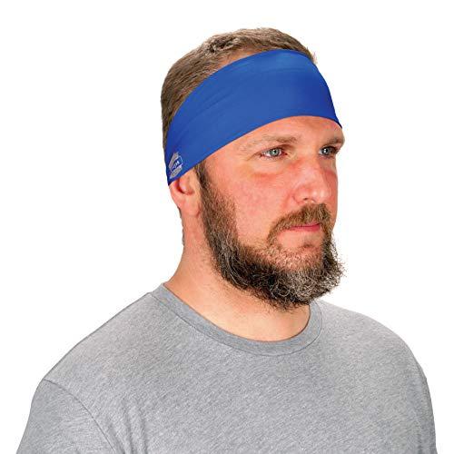 Ergodyne Chill Its 6634 Cooling Headband, Sports Headbands for Men and Women, Moisture Wicking