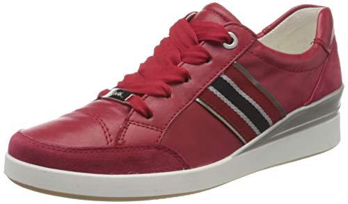 ara Damen LAZIO Sneaker, Rot, Titan 09), 41 EU(7 UK)