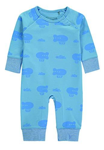 bellybutton Newborn Boys Schlafoverall/Schlafanzug blau (56)