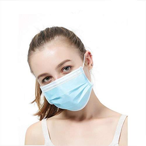 Protection du visage bleu, filtre à air extérieur non tissé