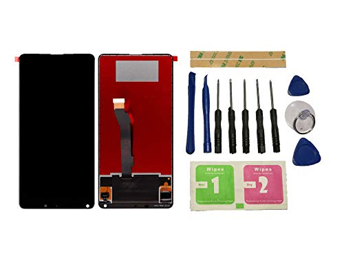 Flügel per Xiaomi Mi Mix 2S M1803D5XA Schermo Display LCD Display Nero Touch Screen Digitizer (Senza Frame) di Ricambio e Strumenti Gratuiti
