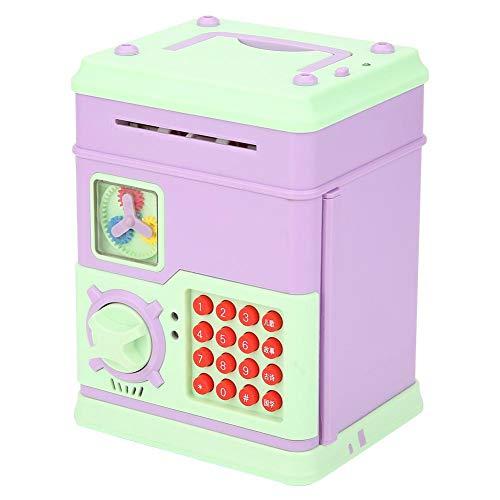 Cloudbox Hucha eléctrica Multifuncional Hucha de Ahorro con 16 Llaves para niños, Juguetes Musicales para niños