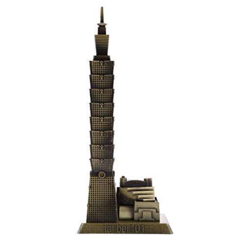FLAMEER Taipei 101 Gebäudearchitektur Modell Einrichtungsgegenstände Tischdekoration