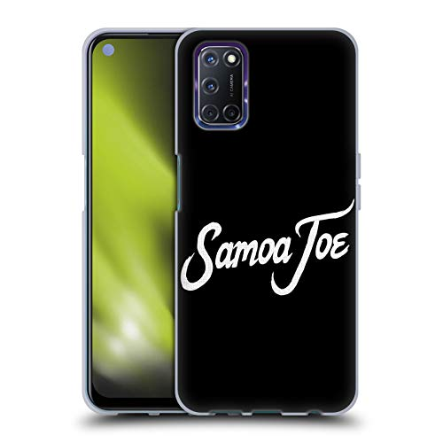 Head Case Designs Officially Licensed WWE Logo Samoa Joe Soft Gel Case Compatible with Oppo A72
