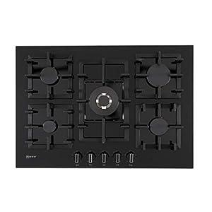 Plaque gaz Neff T27CS59S0 - Plaque de cuisson 5 foyers