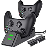 ESYWEN Xbox One Controller Charger with 2 X...