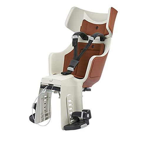 Bobike Kindersitz Maxi Tour Exclusive 1P-Bügel und Gepäckträgerhalterung für hinten Cinnamon Brown