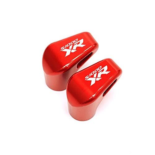 Langlebig Motorrad-Reifenventilabdeckung für S1000xr S 1000xr S1000 XR 2014-2021 2020 2019 Motorrad neueste Radreifenventil STEM Caps luftdichte Abdeckungen Legierung (Color : Red)