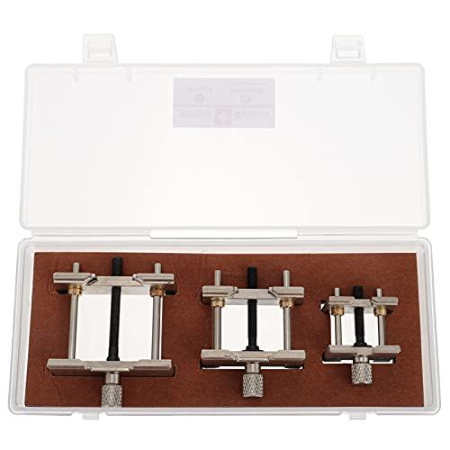 ifundom Soporte de movimiento de reloj útil abrazadera de reparación reloj soporte de retención
