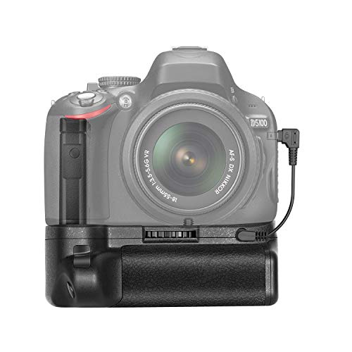 Neewer 40007865 - Batteria Impugnatura per Nikon D5100/5200 DSLR