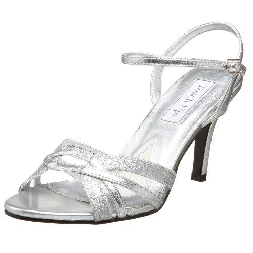 David's Bridal Damen Taryn, Silber, 37.5 EU