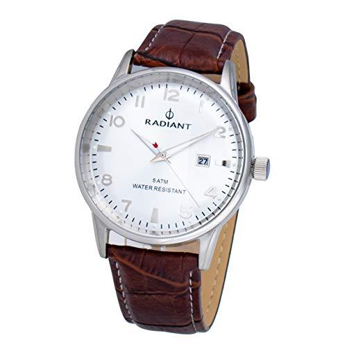 Radiant Reloj Analógico para Hombre de Cuarzo con Correa en Cuero RA434602
