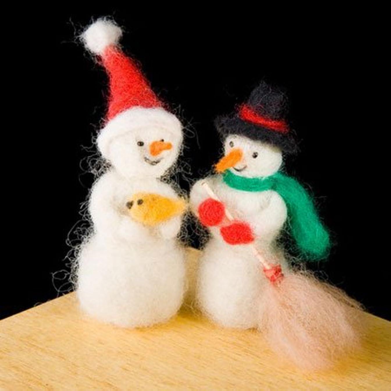 Wool Felting Kits, Snowman
