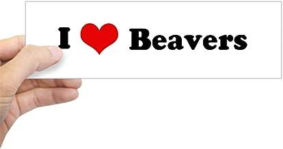 Best i love beaver bumper sticker Reviews