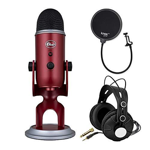 Blue Microphones Yeti Crimson Red USB Mic